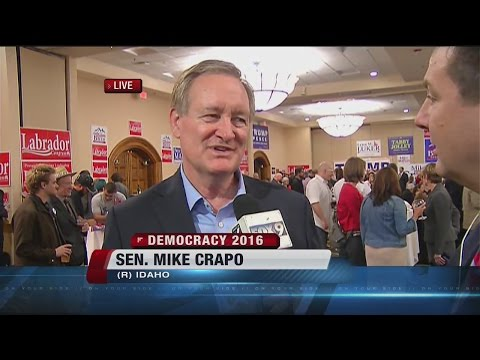 LIVE Interview with Sen. Mike Crapo