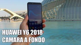 Huawei Y6 2018 Camara a fondo