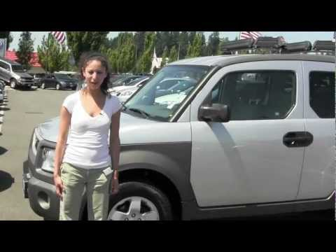 Virtual Walk around Tour of a 2004 Honda Element from Chaplins Auto Group