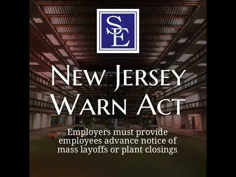 Mass Layoff | New Jersey Employment Lawyers Smith Eibeler