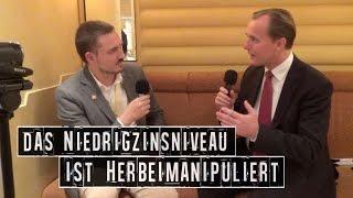 """""""Das Niedrigzinsniveau ist herbeimanipuliert"""": Thorsten Polleit (Ludwig von Mises Konferenz 2016)"""