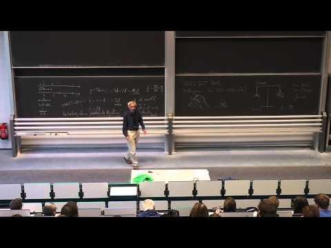 Sternstunden der Mathematik Vorlesung 1