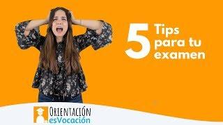 5 Tips para Manejar los Nervios Durante el Examen de Admisión