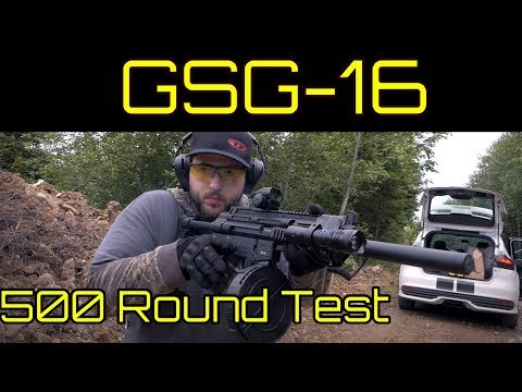 GSG -16 Overview - Excellent H&K MP5 Clone and 22LR Range Toy