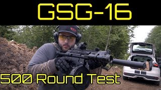 GSG 16 Overview Excellent H K MP5 Clone And 22LR Range Toy