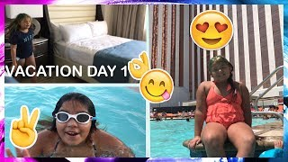 OUR ROOM TOUR - VACATION DAY 1