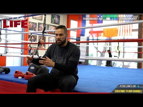 🔴Camp Life Joseph Parker: FULL EXCLUSIVE Sit-Down Interview-Anthony Joshua Breakdown and More!