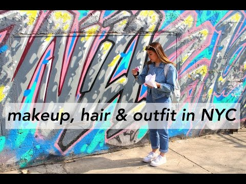 Makeup, Hair and Outfit in NYC // Marley Gemini