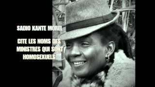 SADIO KANTE MOREL cite les noms des ministres homosexuels