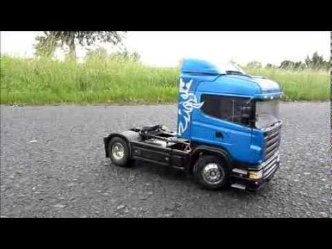 Tamiya Scania R470 Highline - YouTube