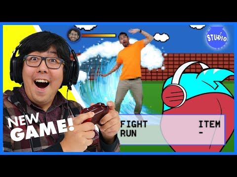Ryan's Daddy Play New Game Office Battle In Real Life!!!!
