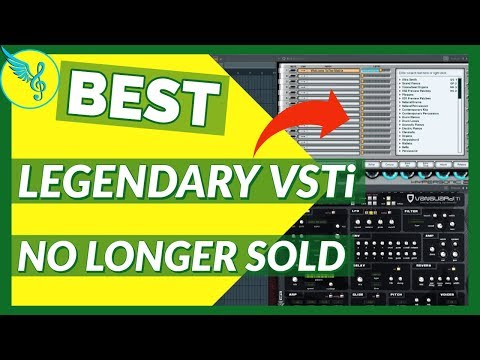 SO SAD YOU CAN'T BUY THESE VST INSTRUMENT PLUGINS ANYMORE...