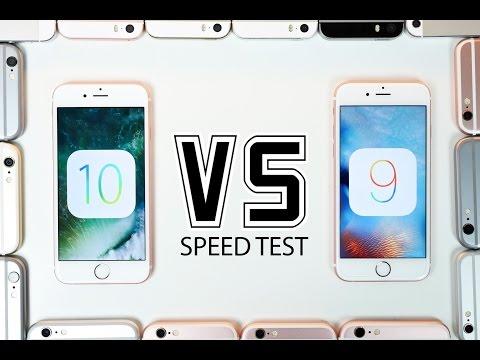 iOS 10 Beta 1 vs iOS 9 Speed Test on ALL iPhones!