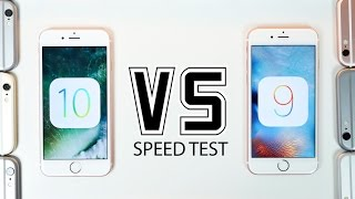 ios 10 beta 1 vs ios 9 speed test on all iphones