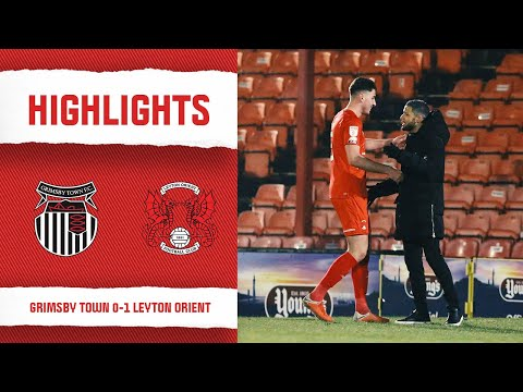 Grimsby Leyton Orient Goals And Highlights