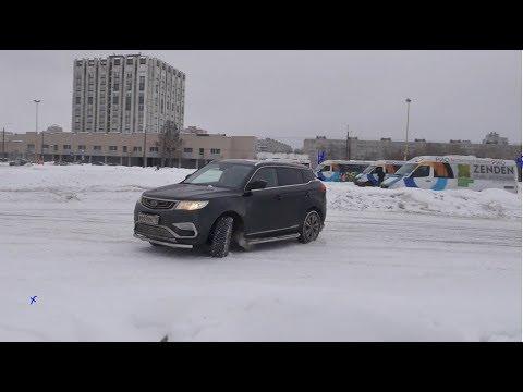 Geely Atlas 4WD (Джили Атлас) Итоги Зимы/Ржавчина/Задиры/Работа ЕСП/Салон.