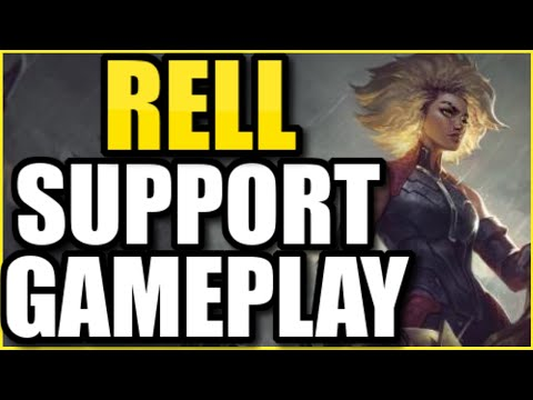 "RELL SUPPORT FULL GAMEPLAY! | FULL MATCH OF THE *NEW* TANK CHAMPION ""RELL"""