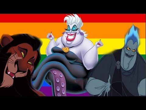 Why Are Disney Villains Gay / Queer?