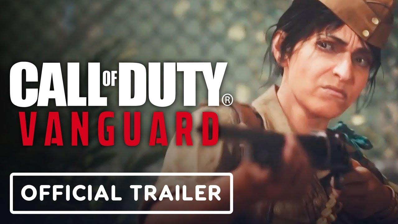Call of Duty: Vanguard - Official Padmavati Balan Trailer - IGN