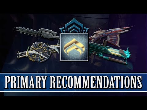 Warframe - Primary Weapon Recommendations For Each Mastery Rank thumbnail