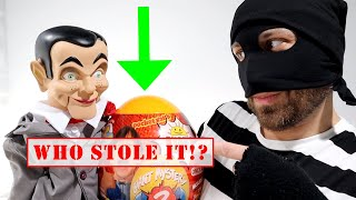 My PB and J LOST Ryan ToysReview Orange Mystery Egg! Was it Slappy!??