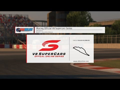 iRacing Official V8 Supercar Series - Round 9, Montreal