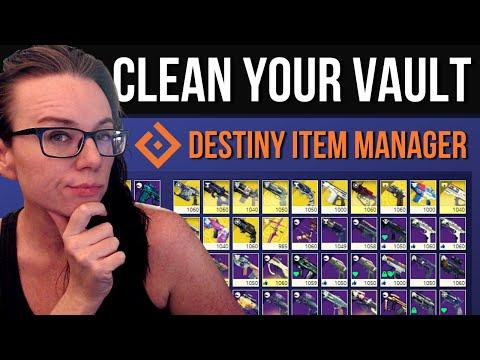 Destiny 2: BEYOND LIGHT PREP - VAULT/INVENTORY MANAGEMENT (DIM Guide)