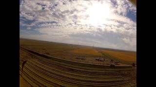 Sacramento Valley Rice rice harvest 2012.wmv