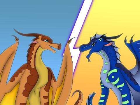 Peril VS Tsunami, Wings of Fire Rap Battle