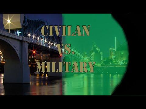 Civilan vs Military