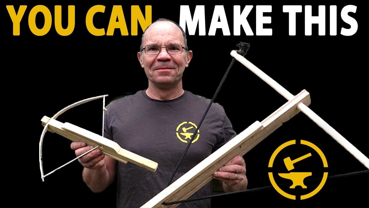Build the simplest crossbow ever