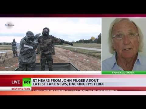 Pilger: Ultimate ambition of hawks in Washington was regime change in Russia