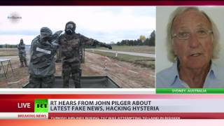 Pilger  Ultimate ambition of hawks in Washington was regime change in Russia