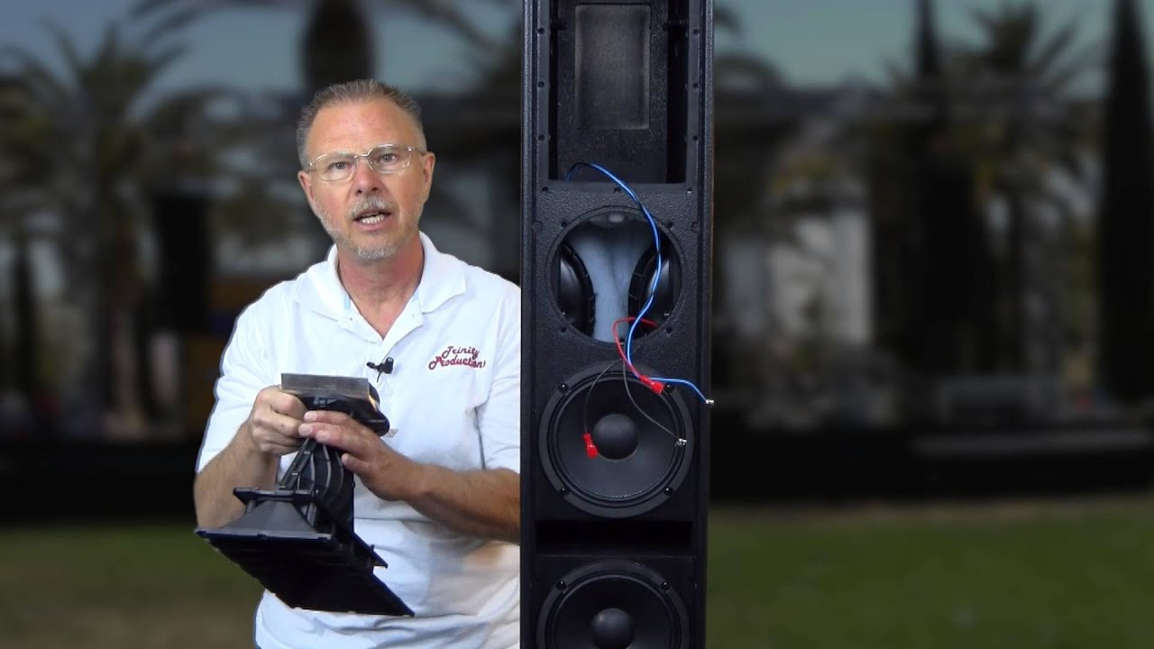 RCF NXL24A In Depth Full Review - Tall Skinny Speakers - Authorized Dealers
