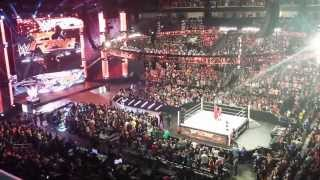 Bo Dallas interrupts Sting - WWE San Jose 3-30-15