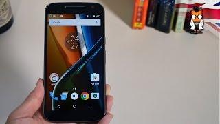Motorola Moto G4 Unboxing & Hands on