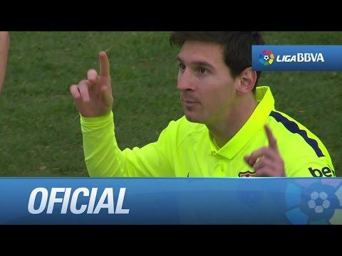Gol de Messi tras una gran jugada de Suárez (1-3) en el Granada CF - FC Barcelona