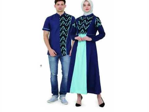 Model Baju Muslim Gamis Couple Terbaru Untuk Lebaran Youtube
