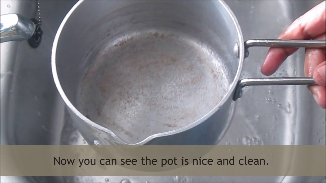 How To Clean Burnt Pots Easy Way Of Cleaning The Aluminium Stainless Steel And Non Stick Pans