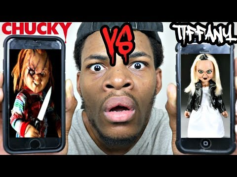 CALLING CHUCKY AND TIFFANY DOLL!!! *THEY HAD A ROAST BATTLE* WOW!!! (THE WINNER IS....)
