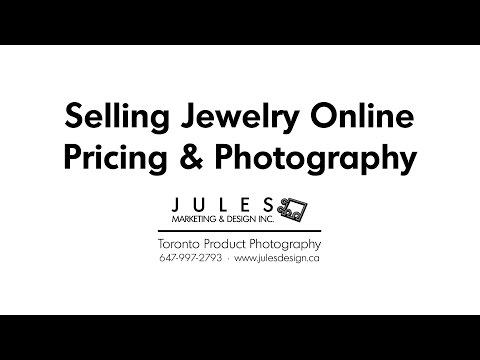 Jewelry Photography for Selling Jewellery Online & Amazon