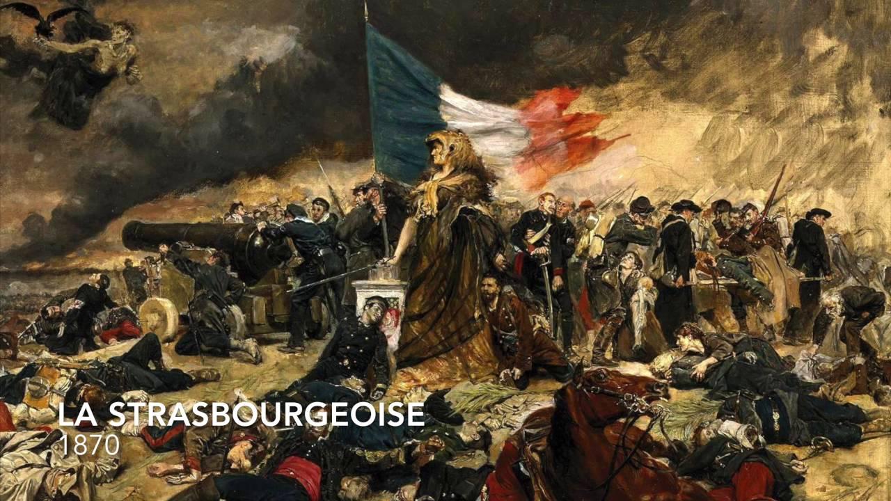 la strasbourgeoise chant militaire