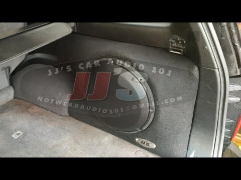Infiniti QX4/Nissan Pathfinder custom sub enclosures for sale on eBay or local pickup - YouTube