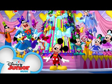 Winter Bow Show Finale | Music Video | Mickey Mouse Clubhouse | Disney Junior