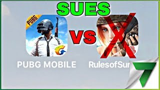 PUBG WANTS Rules of Survival DELETED! PUBG SUES RoS!!