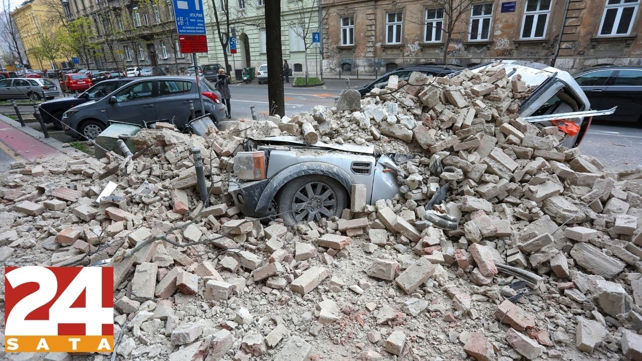 Potres U Zagrebu Proslo Je Mjesec Dana Youtube