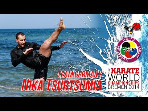 Nika Tsurtsumia Team Germany WORLD CHAMPIONSHIPS 2014 Bremen
