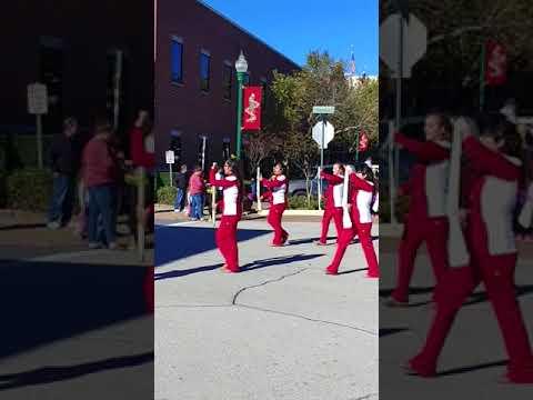 Caney Creek High School Band 2017 Conroe Christmas Parade   12-9-17