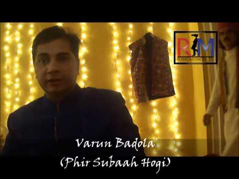 Varun Badola Unplugged with Rangmunch.TV