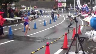 第70回岡崎市民駅伝競争大会(2019年1月20日) ゴール